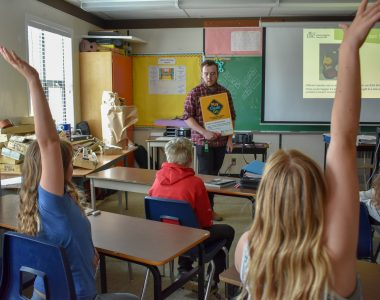 ISCBC Classroom visits