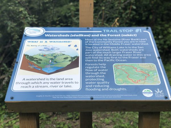 Information Sign 1 - CCCS Hydrology Trail