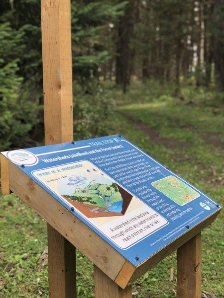 CCCS Hydrology Trail Sign 1