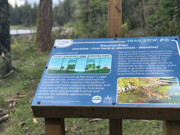 CCCS Hydrology Trail Information Sign
